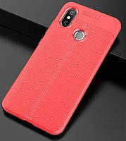 """Чехол для Xiaomi Mi 8 6.21"""" силикон Original Auto Focus Soft Touch красный"""