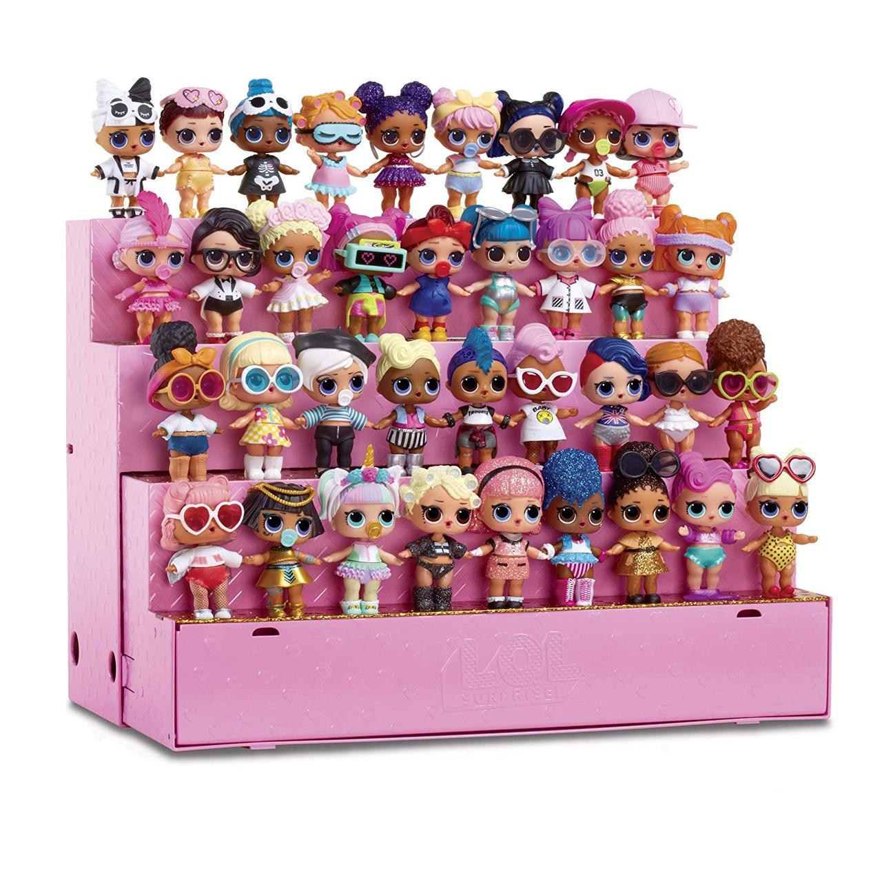 Игровой набор ЛОЛ Модный подиум 3 в 1 с куклой L.O.L. Surprise! Pop-Up Store 3 in 1