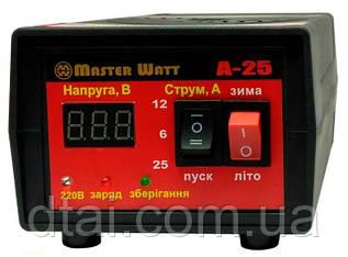 Пуско-зарядное устройство для аккумуляторов MASTER 12В 25А