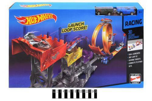 Трек-запуск с мертвой петлей Hot Wheel 9988-66А, фото 2