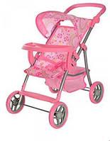 Детская прогулочная коляска для куклы Melogo 9366 T/018, фото 1