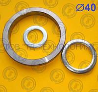 Шайбы для пальцев Ф40 ГОСТ 9649-78, DIN1440, фото 1