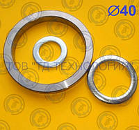 Шайбы для пальцев Ф40 ГОСТ 9649-78, DIN1440