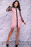 Оригінальне ошатне плаття сорочка 44-50р, фото 2