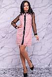 Оригінальне ошатне плаття сорочка 44-50р, фото 4