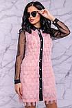 Оригінальне ошатне плаття сорочка 44-50р, фото 5