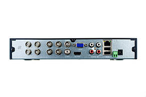 Гибридный видеорегистратор (для IP, AHD, TVI, CVI камер) SEVEN MR-7608, фото 2