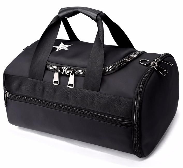 Стильная сумка-рюкзак Bopai 3в1 влагозащищенная, черная (732-005791)