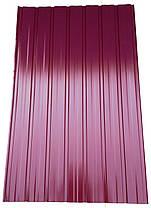 Профнастил для забора ПС-10,  0,25мм  высота от 1,5 до 2 метров, цвета различные, фото 2