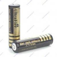 Аккумулятор Li-Ion UltraFire 3.7V, 4000 18650