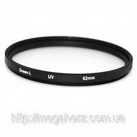 Защитный УФ фильтр 62мм UV filter 62mm Green.L