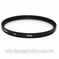 Защитный УФ фильтр 67мм UV filter 67mm Green.L