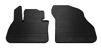 Коврики в салон резиновые передние для BMW X1 F48 2015- Stingray (2шт)
