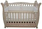 Детская кроватка Верес Соня ЛД 15 маятник+ящик (патина), фото 4