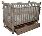 Детская кроватка Верес Соня ЛД 15 маятник+ящик (патина), фото 6