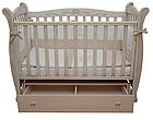 Детская кроватка Верес Соня ЛД 15 маятник+ящик (патина), фото 7