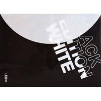 "Конверт на кнопке А4 ""Black Edition"" белый L5602"
