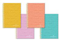 Блокнот / тетрадь в линию Faber-Castell формат A4 на спирали, 100 листов, 400107