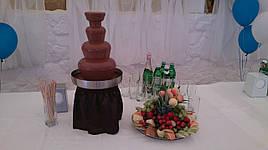 Оренда шоколадного фонтану на 4.5 кг шоколаду (з шоколадом і обслуговуванням)