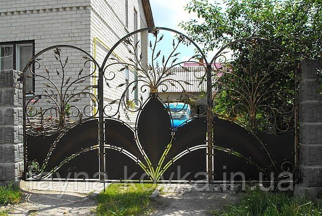 Кованные ворота 1488