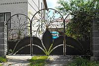 Кованные ворота 1488, фото 1