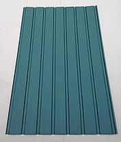 Профнастил  для забора ПС-10, зеленый, 0,25мм 1,5 м х 0,95м, фото 2