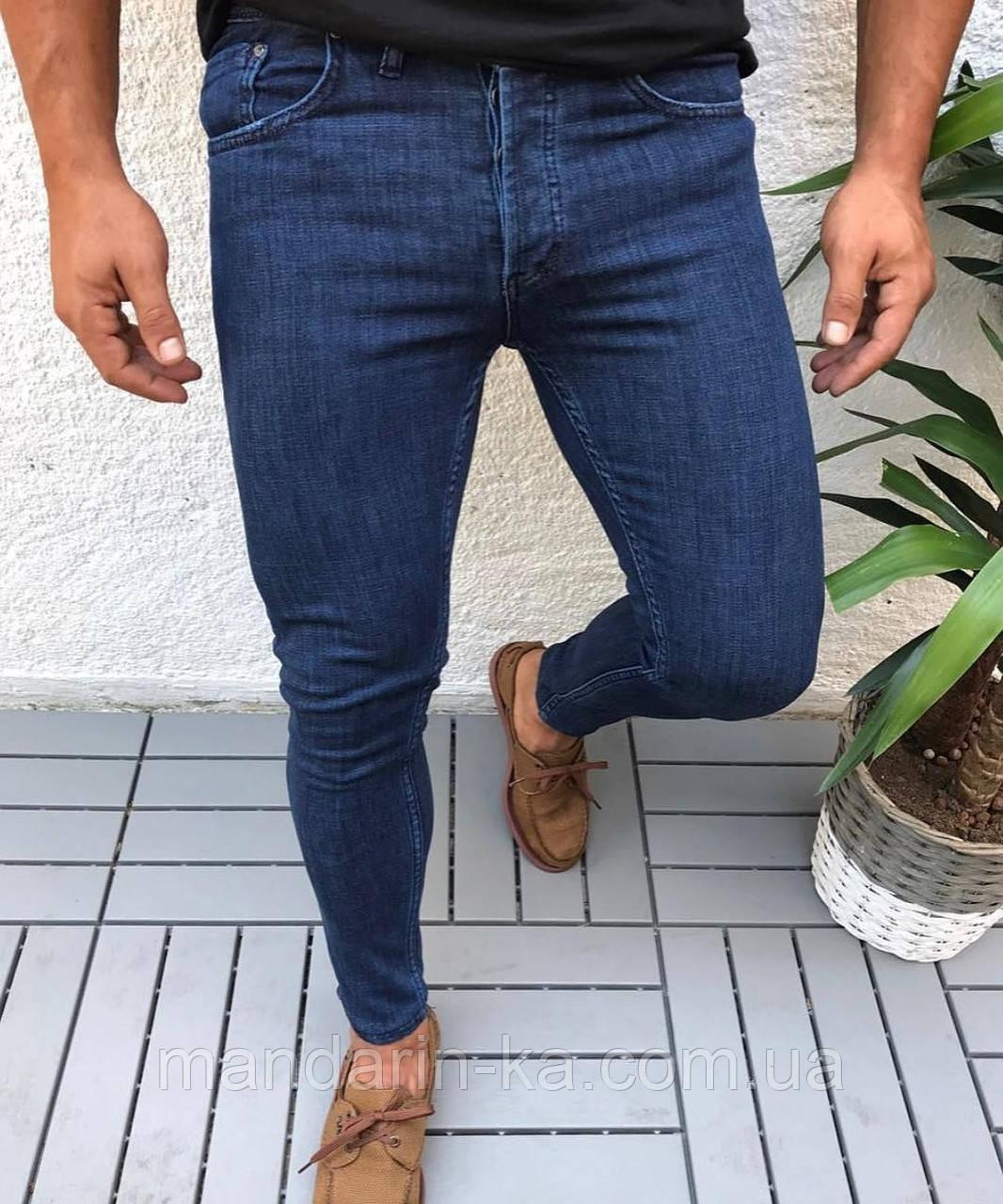 Джинсы мужские синие брендовые