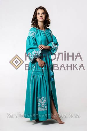 Вишите плаття бохо максі-лонг  продажа bc19eaf6ff2c5
