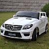 Детский Электромобиль Mercedes-Benz ML 63 EBRS черный, пульт Bluetooth 2.4G, колеса EVA, автопокраска, фото 4