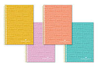 Блокнот / тетрадь в клеточку Faber-Castell формат A4 на спирали, 100 листов, 400108