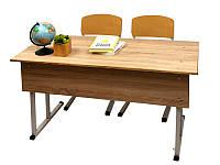Школьная мебель двухместный комплект «ГАРАНТ» регулируемый ТСО