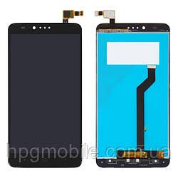 Дисплей для ZTE ZMAX Pro Z981, модуль в сборе (экран и сенсор), черный, оригинал