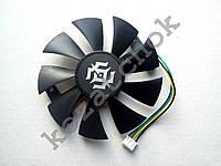 Вентилятор №58 кулер для видеокарты Zotac PowerColor RX 470 570 580 GTX960 1060 1050Ti 1070 GA91S2H GA91S2U