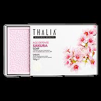 Натуральное мыло антивозрастное с сакурой THALIA, 150 г