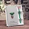 Подарочный набор Блокнот Кактус и ручка Кактус, фото 7
