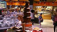 Аренда шоколадного фонтана на 9 кг шоколада (с шоколадом и обслуживанием)