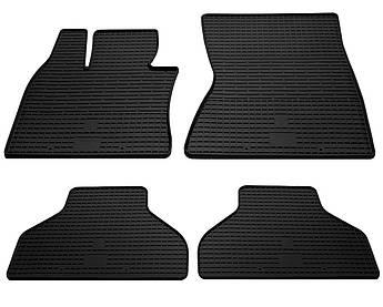 Коврики в салон резиновые для BMW X6 F16 2014- Stingray (к-кт 4шт)