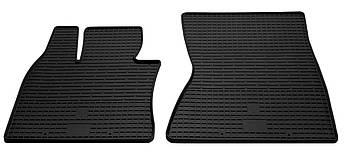 Коврики в салон резиновые передние для BMW X6 F16 2014- Stingray (2шт)