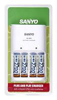Зарядное устройство для аккумуляторов Sanyo + 2700