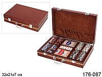 Набор для покера в кейсе 1, покерный набор