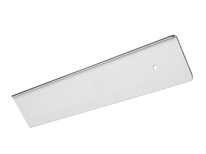 Заглушка стільниці торцеві права U-заокруглена GIFF 38х600 R-3 алюміній