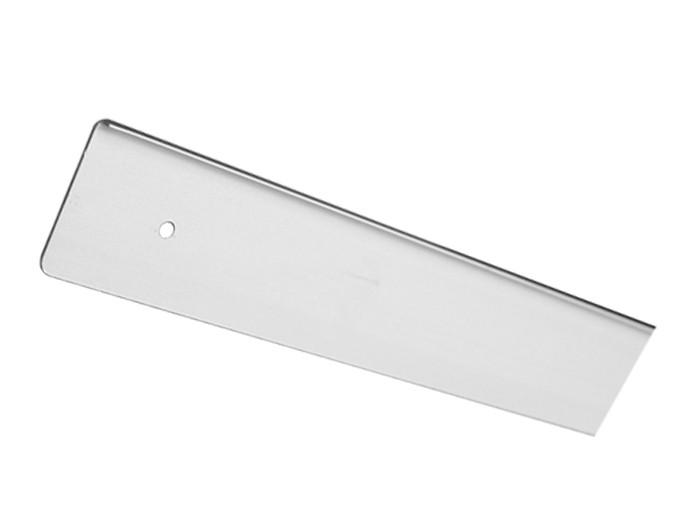 Заглушка стільниці торцеві ліва U-заокруглена GIFF 38х600 R-3 алюміній