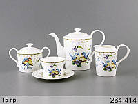 Чайный набор Lefard Птицы на 15 предметов 264-414