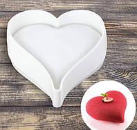 Силиконовая форма для муссовых тортов Valentino Heart
