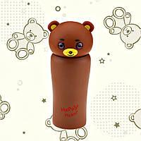"""Термос """"Медвежонок"""" коричневый"""
