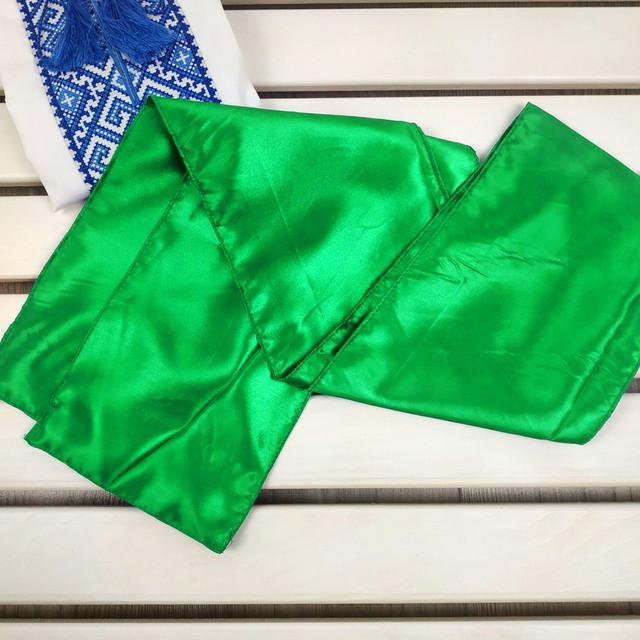 Пояс кушак зеленый