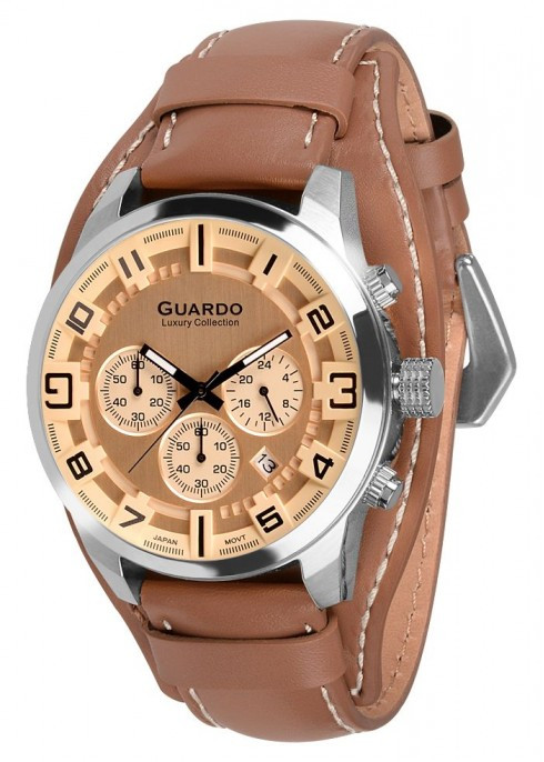 Мужские наручные часы Guardo S01740 SBgBr