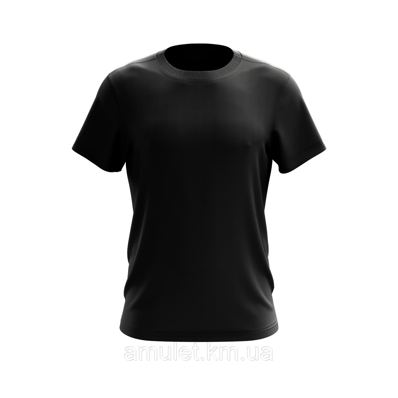 Однотонна футболка для чоловіків