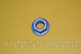 Гайка М4 DIN 6923 оцинкованная