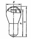 Лампа РН 6-15 P15d